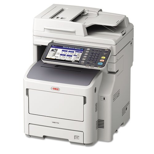 OKI MB770fx Multifunction Monochrome Laser Printer