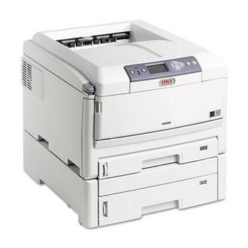 OKI C830DTN Wide-Format Color Printer