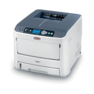 OKI C610n Laser Printer, Network-Ready