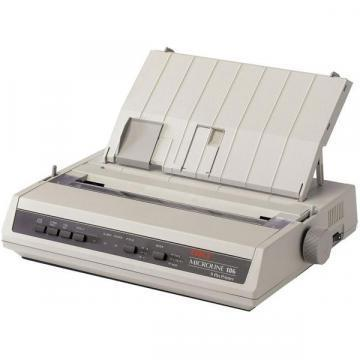 OKI Microline 186 Dot Matrix Printer, Serial