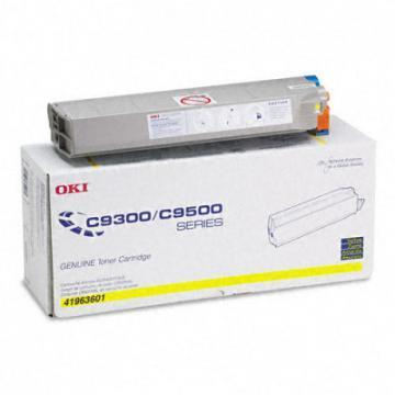 OKI Toner (Type C4), 15000 Page-Yield, Yellow