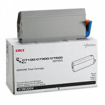 OKI Toner (Type C4), 10000 Page-Yield, Black
