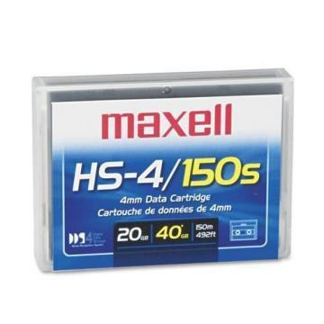 "Maxell 1/8"" DDS-4 Cartridge, 150m, 20GB/40GB"