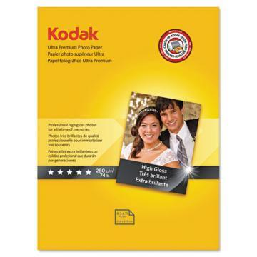 Kodak Ultra Premium Photo Paper, High-Gloss, 8-1/2 x 11, 25 Sheets/Pack