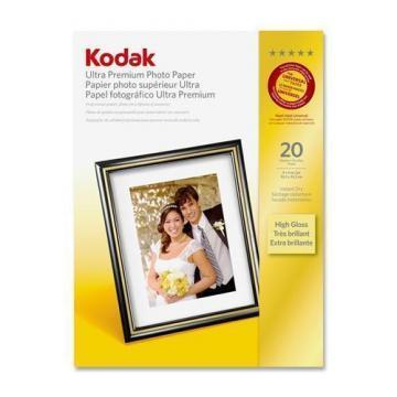 Kodak Ultra Premium Photo Paper, High-Gloss, 4 x 6, 20 Sheets/Pack