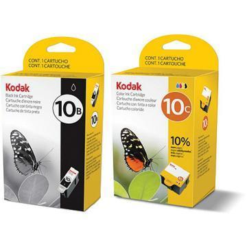 Kodak 10B Black + 10C Color Inks