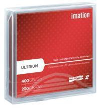 "Imation 1/2"" Ultrium LTO-2 Cartridge, 1998ft, 200GB/400GB"