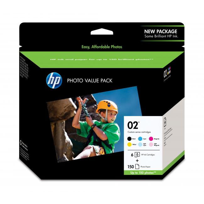 HP Q7964AN #02 Photo Value Pack
