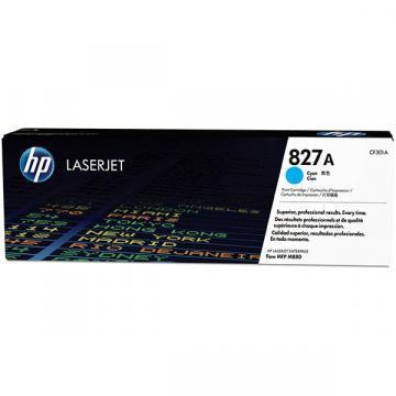 HP 827A Cyan LaserJet Toner Cartridge