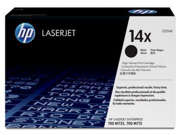 HP 14X High Yield Black LaserJet Toner Cartridge