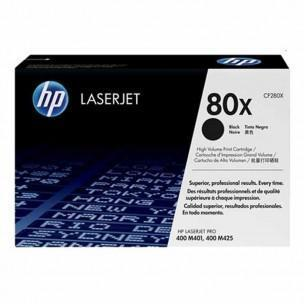 HP 80X High Yield Black LaserJet Toner Cartridge
