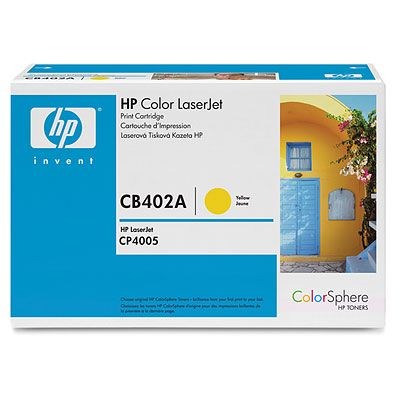 HP 642A Yellow LaserJet Toner Cartridge