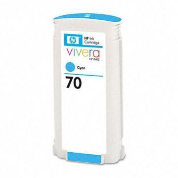 HP 70 Cyan Ink Cartridge