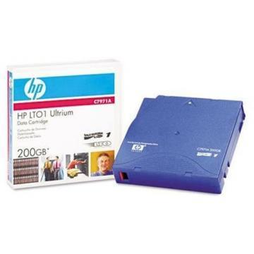 "HP 1/2"" Ultrium LTO-1 Cartridge, 1998ft, 100/200GB"