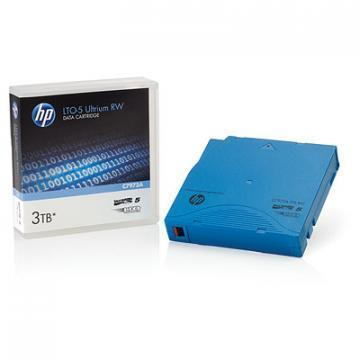 "HP 1/2"" Ultrium LTO-5 Cartridge, 2775ft, 1.5/3TB"