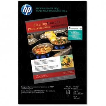 HP Inkjet Brochure/Flyer Paper, 11 x 17, 150 Sheets