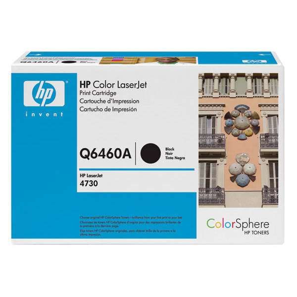 HP 644A Black LaserJet Toner Cartridge