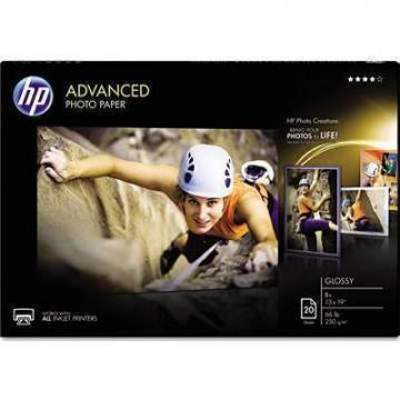 HP Advanced Photo Paper, Glossy, 13 x 19, 20 Sheets