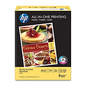 HP All-In-One Printing Paper, Letter, 500 Sheets