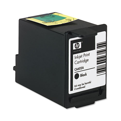 HP C6602A Ink Cartridge, Black