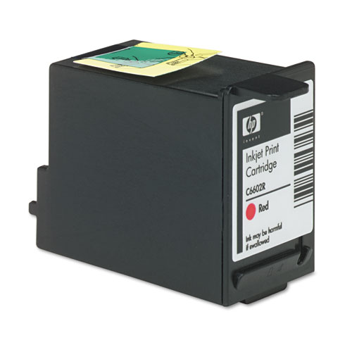 HP C6602R Ink Cartridge, Red