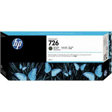 HP 726 Matte Black Ink Cartridge
