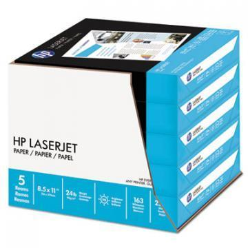 HP LaserJet Paper, Ultra White, Letter, 2500 Sheets/Carton