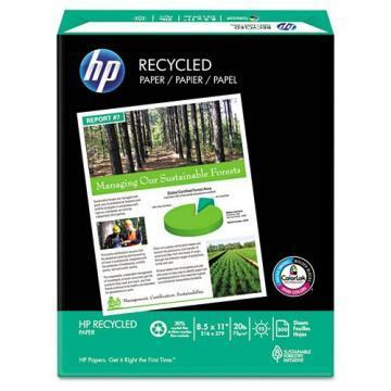 HP Office Recycled Paper, 8-1/2 x 11, 5000 Sheets