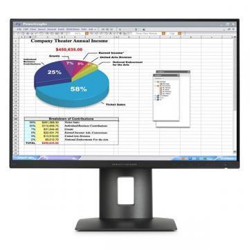 HP Z24n 24-inch Narrow Bezel IPS Display