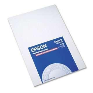 Epson Premium Photo Paper, High-Gloss, 13 x 19, 20 Sheets