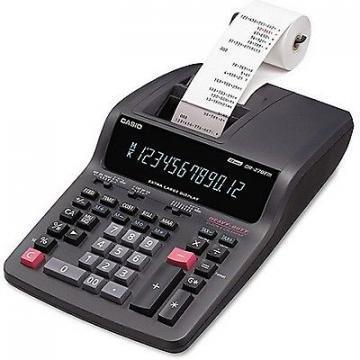 Casio DR-270TM Two-Color Desktop Calculator