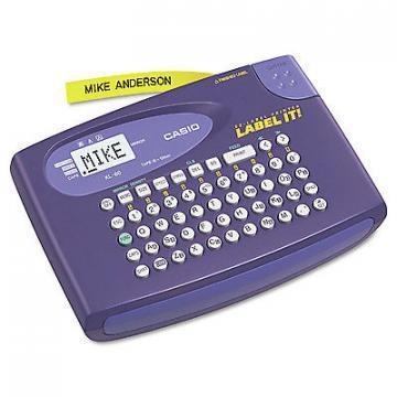 Casio KL-60L Label Maker, 2 Lines