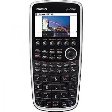 Casio PRIZM FX-CG10 Graphing Calculator, 21-Digit Color LCD