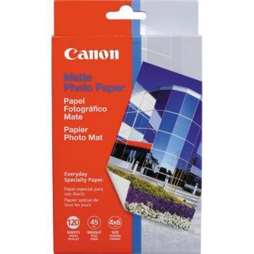 Canon Matte Photo Paper, 4 x 6, 120 Sheets/Pack