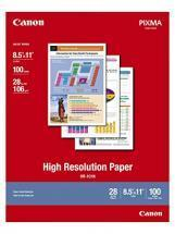 Canon High Resolution Paper, Matte, 8-1/2 x 11, 100 Sheets/Pack
