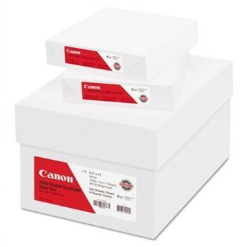 Canon Coated Two-Sided Gloss Text Paper, 8-1/2 x 11, 500 Sheets