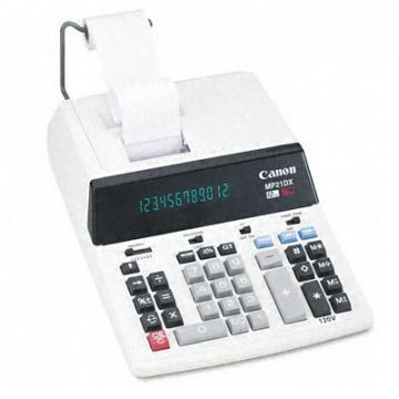 Canon MP21DX 12-Digit Ribbon Printing Calculator