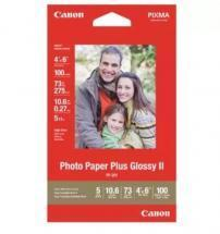 Canon Photo Paper Plus Glossy II, 4 x 6, 100 Sheets