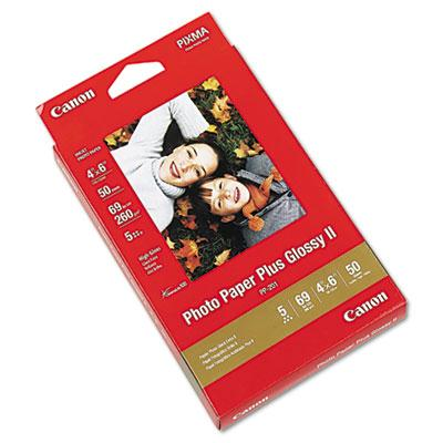 Canon Canon Photo Paper Plus Glossy II, 4 x 6, 50 Sheets