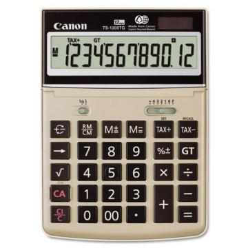 Canon TS1200TG Desktop Calculator, 12-Digit LCD