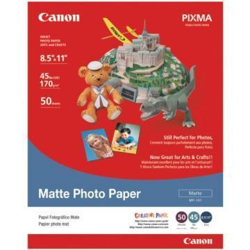 Canon Photo Paper Plus, Matte, 8-1/2 x 11, 50 Sheets