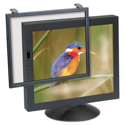 "3M Antiglare Executive Flat Frame Monitor Filter, 17""-18"" CRT/LCD"