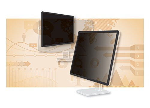 "3M Framed Desktop Monitor Privacy Filter for 23""-24"" Widescreen"
