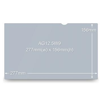 "3M Antiglare Flatscreen Frameless Filter for 12"" Widescreen Notebook"
