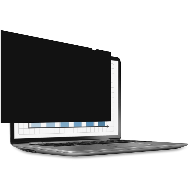 "Fellowes PrivaScreen Blackout Privacy Filter for 15.6"" Widescreen"