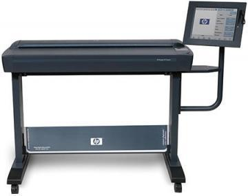 HP Designjet HD Large-Format Scanner, 300 x 300 dpi