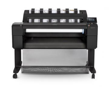 HP DesignJet T930 Postscript Printer w/ Encrypted HDD