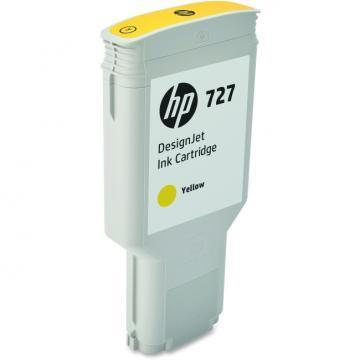 HP 727 300ml Yellow DesignJet Ink Cartridge