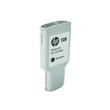 HP 728 300ml Matte Black DesignJet Ink Cartridge