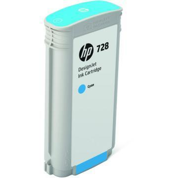 HP 728 130ml Cyan DesignJet Ink Cartridge